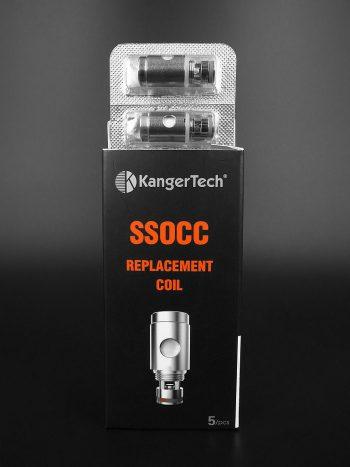 All-New Kanger SSOCC for SUBTANK Series/TOPTANK Series/NEBOX/SUBVOD (5pk)