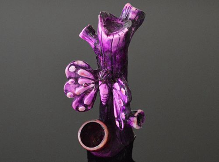 """Hand Crafted Figurine Resin Smoking Pipe H-5"""""""