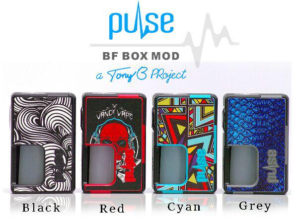 Pulse BF BOX MOD, VANDY VAPE