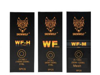 SNOWWOLF WF/WF-H/WF-M Coils