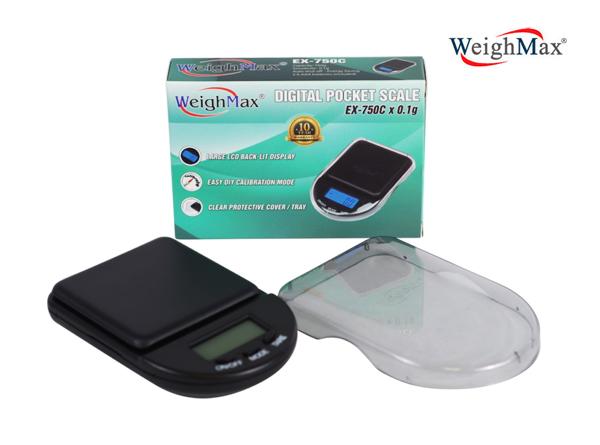 WeighMax Digital Pocket Scale EX-750C