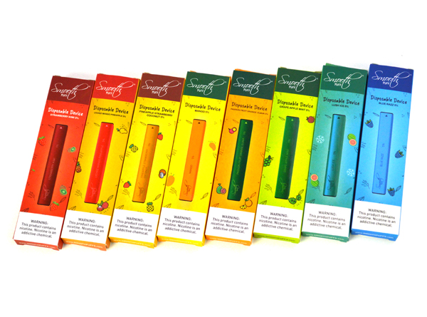 Smooth Puff Disposable Device